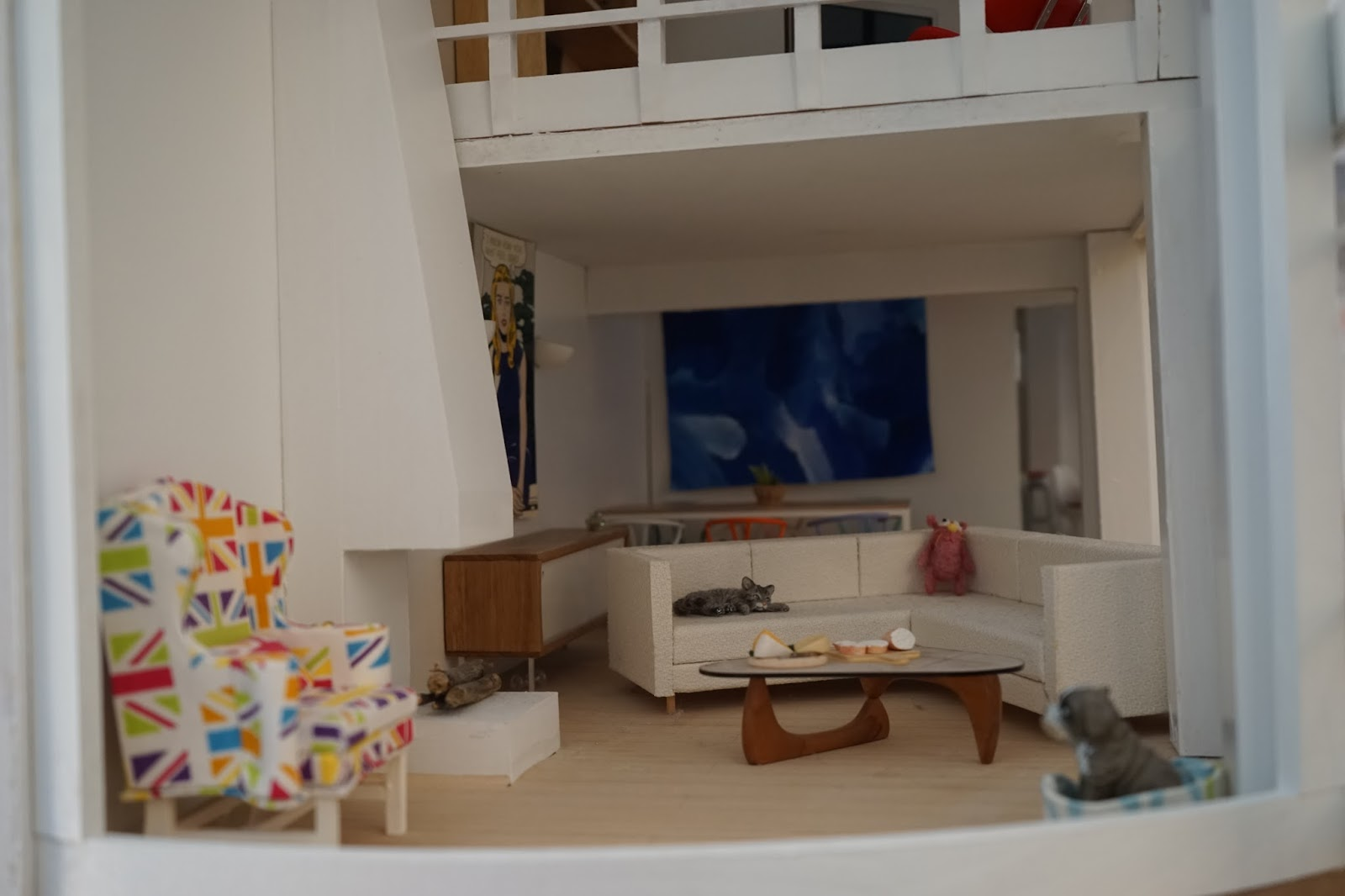 I Decided To Re Arrange My Malibu Dolls House Living Room For The Moment    Especially Since I Still Havenu0027t Put In The Stairs. Part 76