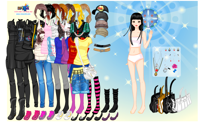 free online hot dress up games