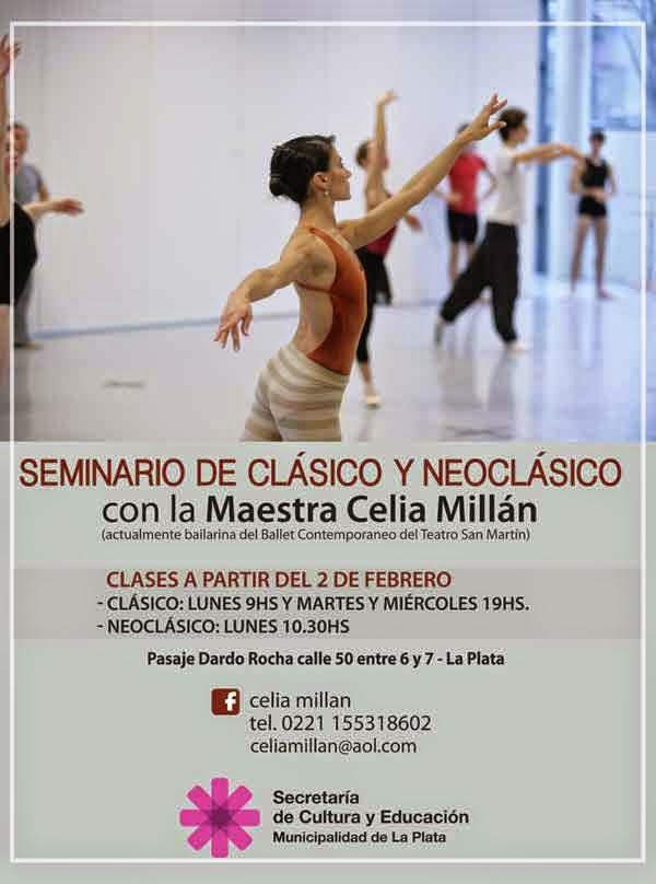 Seminario de Clásico y Neoclásico con la maestra Celia Millan