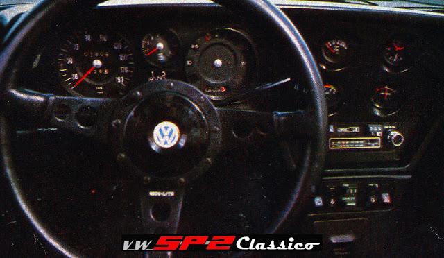 Painel do Volkswagen SP3
