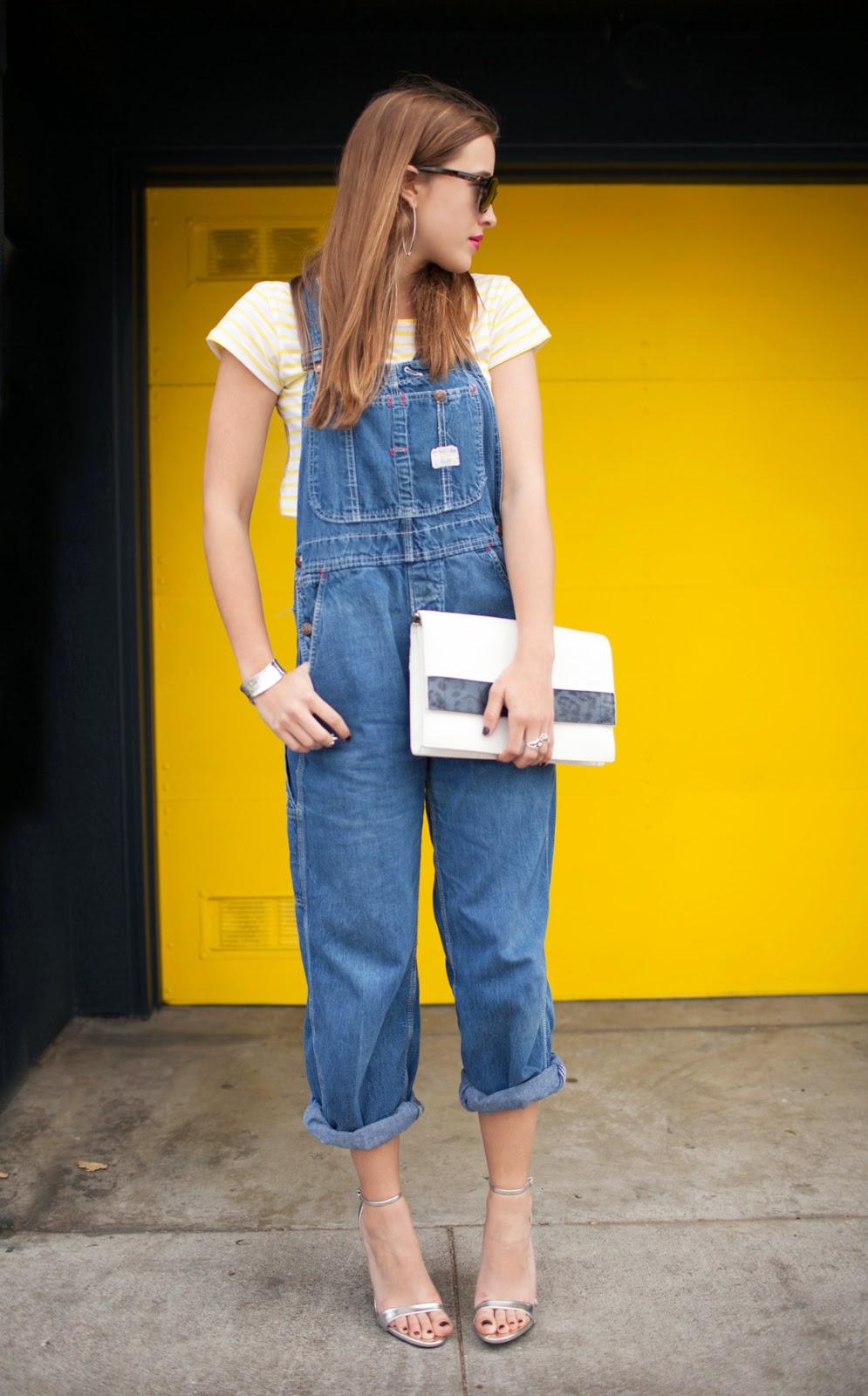 overalls and crop tops