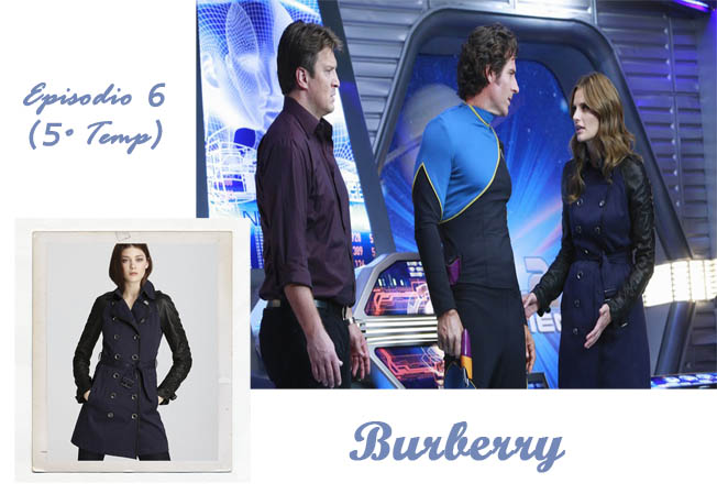 Kate Beckett trench burberry