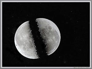 !!!تصویری مستند از لحظه شق القمر