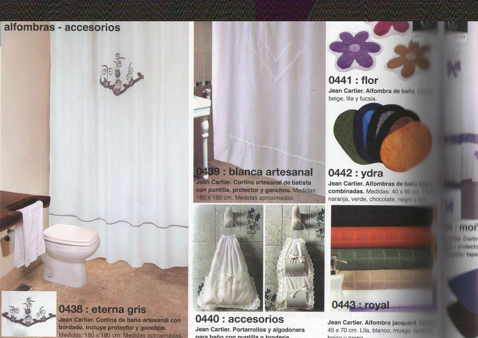 Jean cartier temporada oto o invierno 2011 cortinas de for Fabrica de ganchos para cortinas de bano