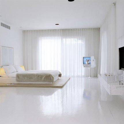 Dormitorios totalmente blancos casas decoracion - Dormitorios blancos ...