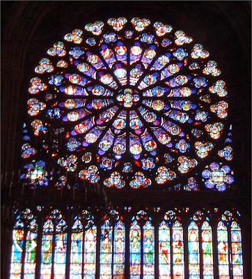 Vidriera de Notre Dame