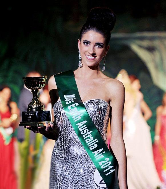 Charlotte Mastin,miss earth australia air 2011