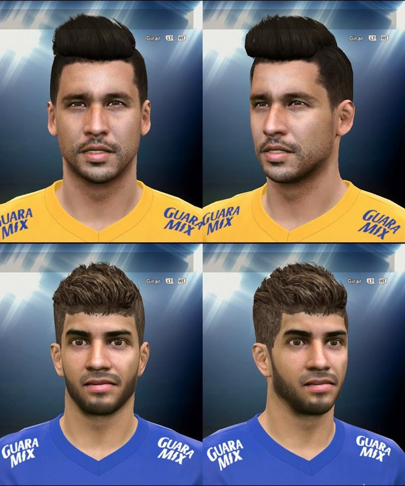[PES 2015 PC] Mini Facepack Lucas Siva E Fábio Do Cruzeiro