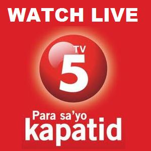 Watch TV5 Live! CLICK HERE