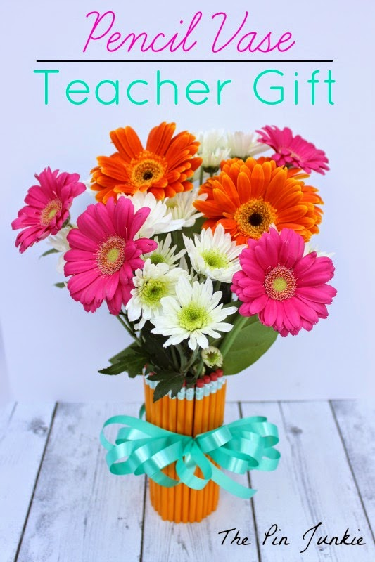 Teacher Gift Pencil Vase