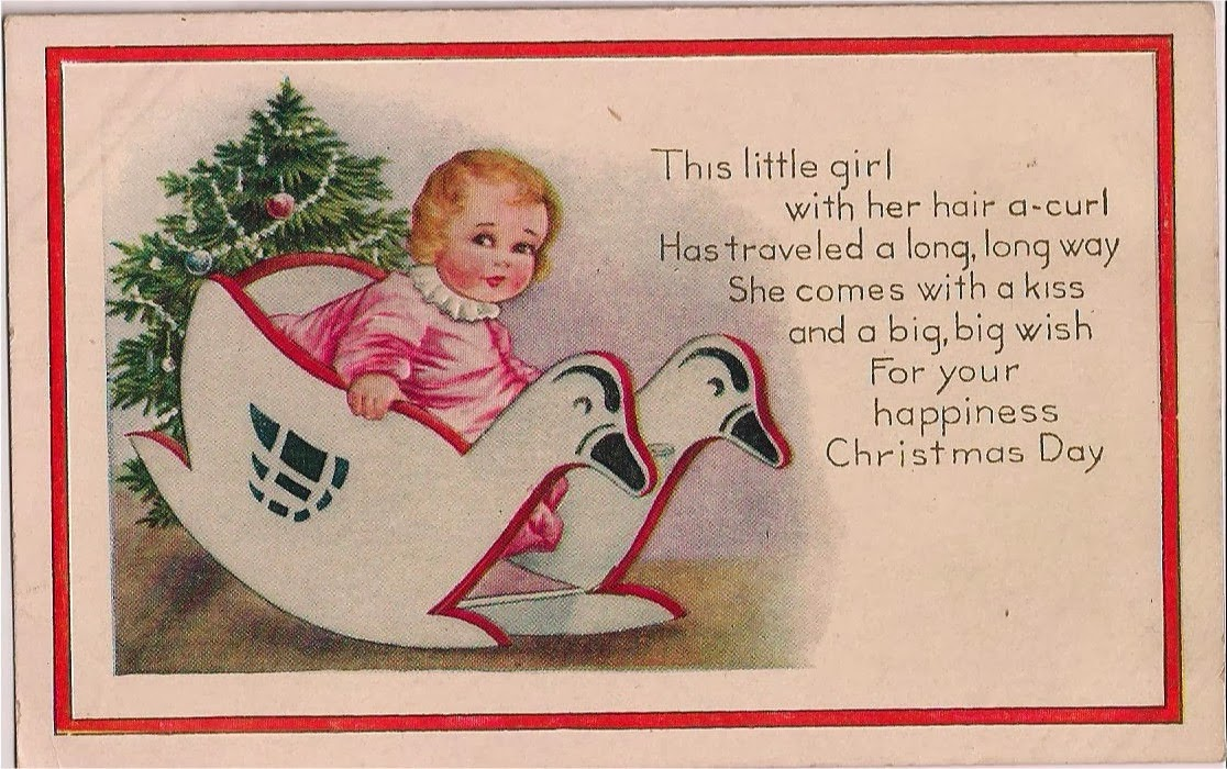 Nothing But Limericks: Vintage Christmas Card Limerick Poem
