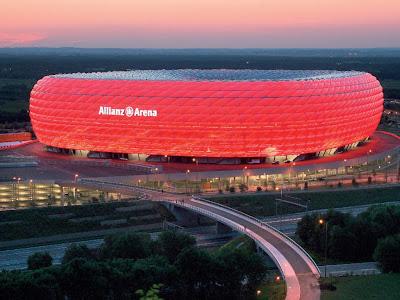 Allianz Arena Bayern Munchen Staduim