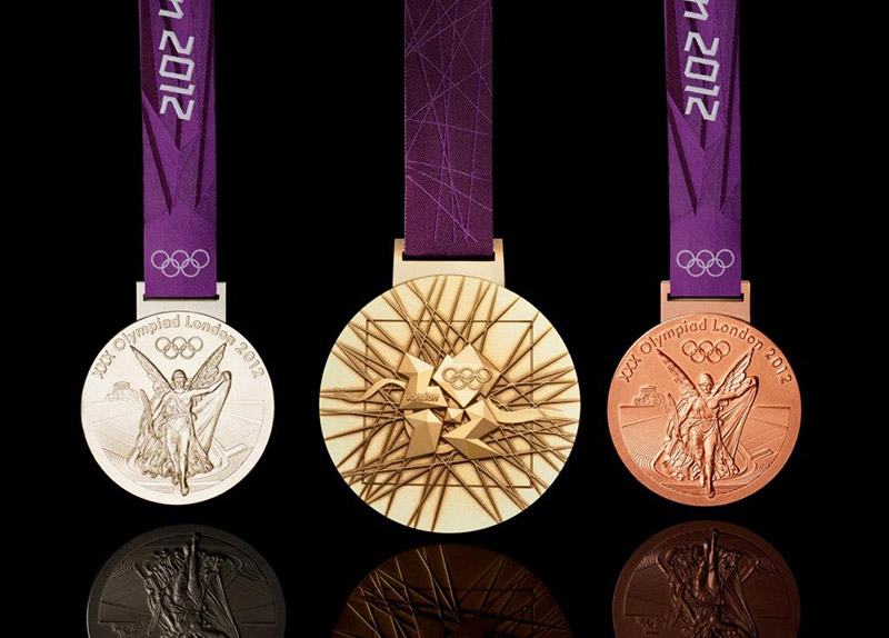 Bronze Silver Gold Medal