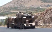 Turkey mobilizes tanks