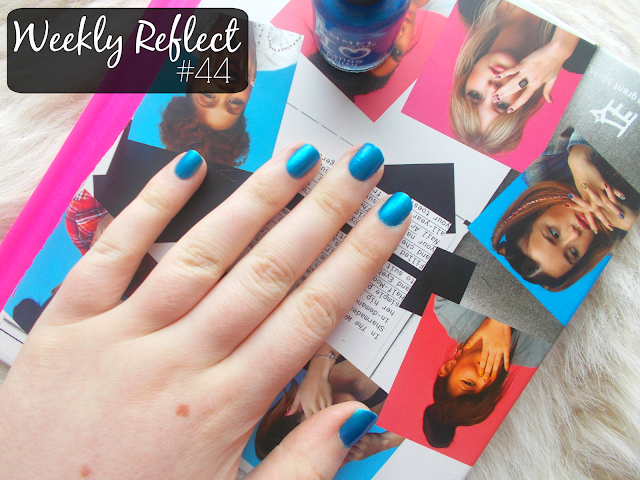 weekly reflect rimmel azure nail polish wah nails book