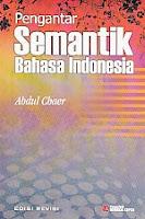 toko buku rahma: buku PENGANTAR SEMANTIK BAHASA INDONESIA, pengarang abdul chaer, penerbit rineka cipta