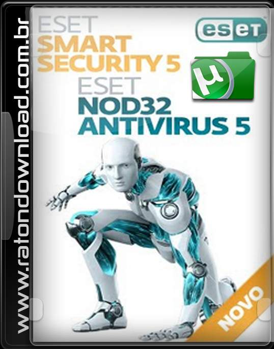 ESET Smart Security & ESET NOD32 Antivirus v5.2.15.1 Final + Crack.