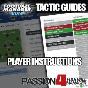 Football Manager 2014 Player Instructions
