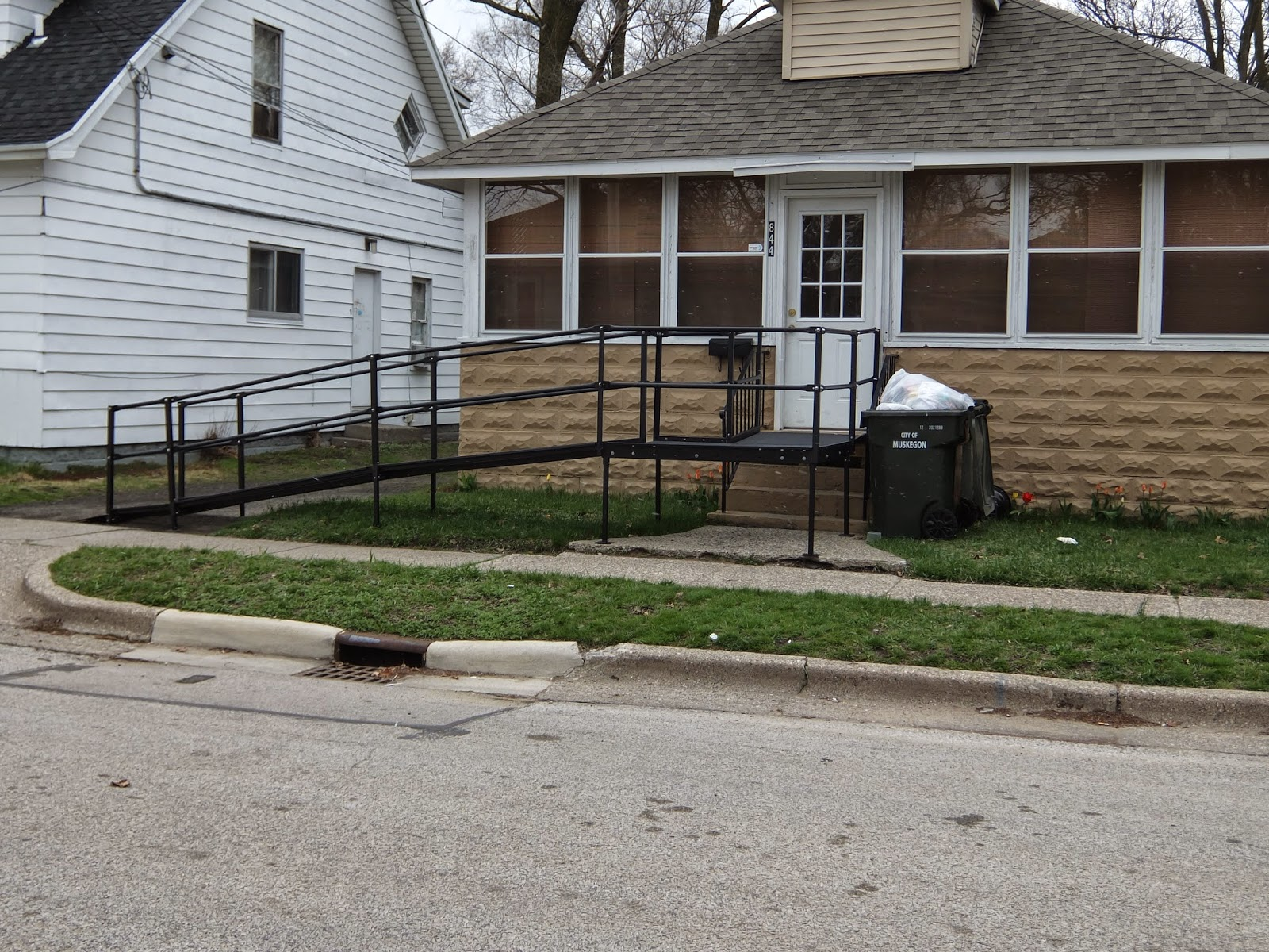 Wheelchair ramp rant universal design for accessible homes for Wheelchair homes