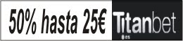 Titanbet - Hasta 25 euros gratis