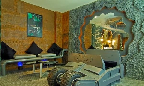 Bat-suite en el Hotel Edén de Kaohsiung City