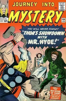 Journey into Mystery #100, Thor v Mr Hyde