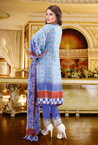 Warda Luxury Silk Collection 2014-15
