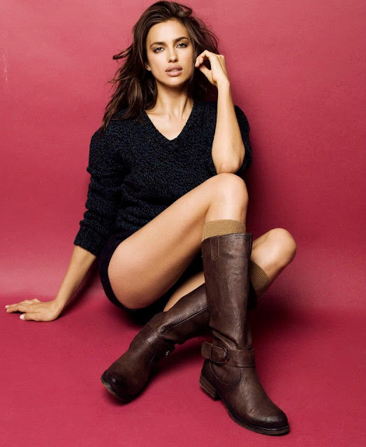Irina Sheik XTi Shoes Photoshoot