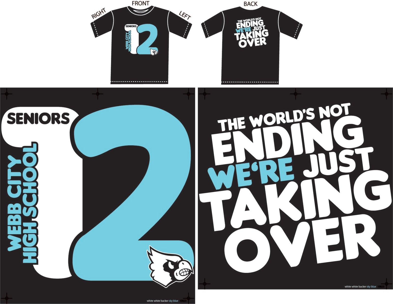 senior class t shirt designs