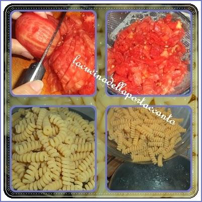 insalata di pasta fredda al pesto del sud