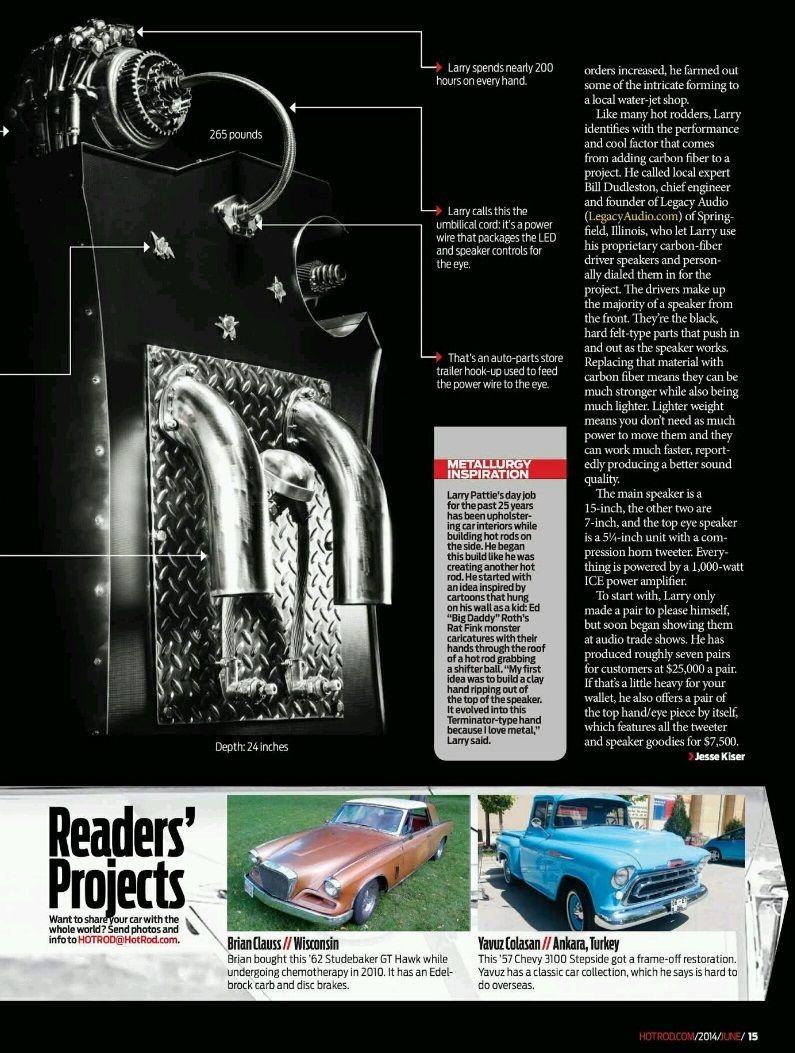 My Vintage Garage by Yavuz Çölaşan: I\'m in Hot Rod June 2014 issue