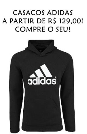 CASACOS ADIDAS - PROMOÇÃO CENTAURO!!!