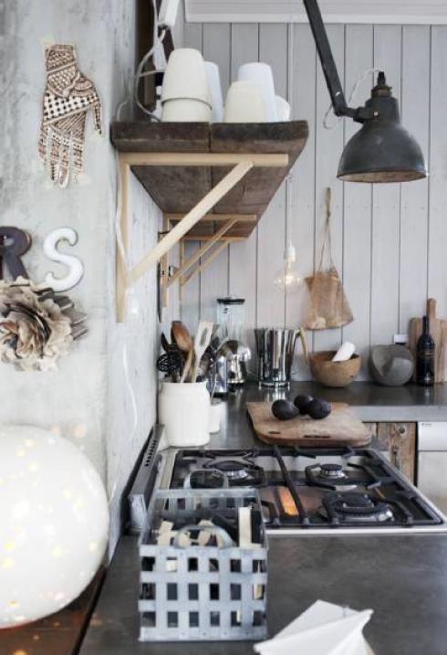 cocina rustica flexo vintage