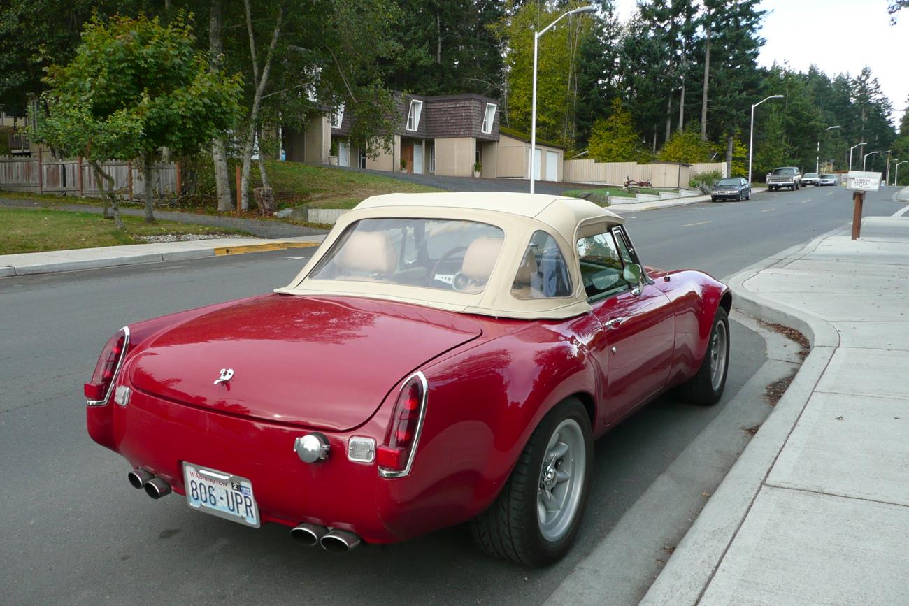 old parked cars 1970 mg mgb custom v8. Black Bedroom Furniture Sets. Home Design Ideas