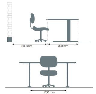 Mobicomercio for Dimensiones de un escritorio de oficina