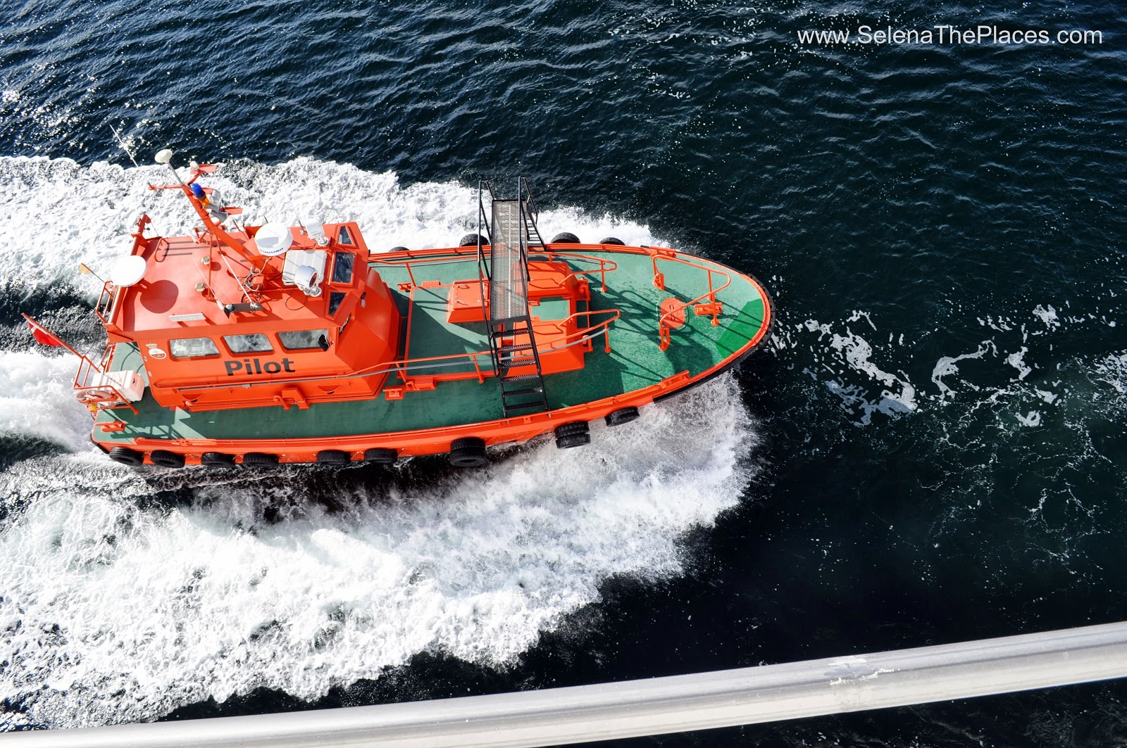 The Pilot Boat on a cruise