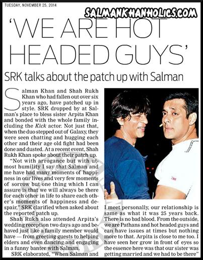 salman khan and shahrukh relationship problems