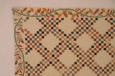 Triple Irish Chain Susan McCord Detail