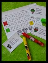 http://www.teacherspayteachers.com/Product/Adding-and-Subtracting-on-the-Number-Chart-Sweet-Stuff-1568302