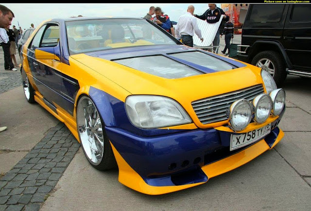 mercedes c140 cl600 custom