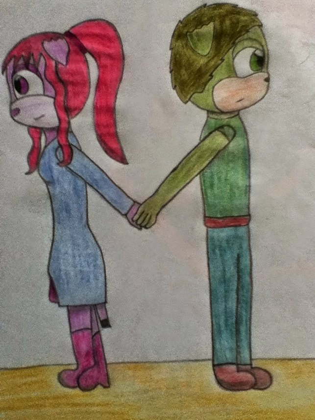 Dibujo Evanet!! X3 Gracias por este regalo Amanda!!! X33