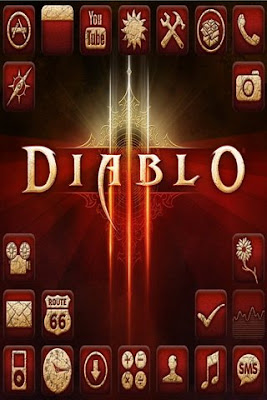 Diablo 3 theme for iPhone