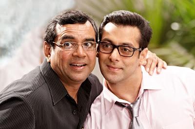 Ready Salman with Paresh