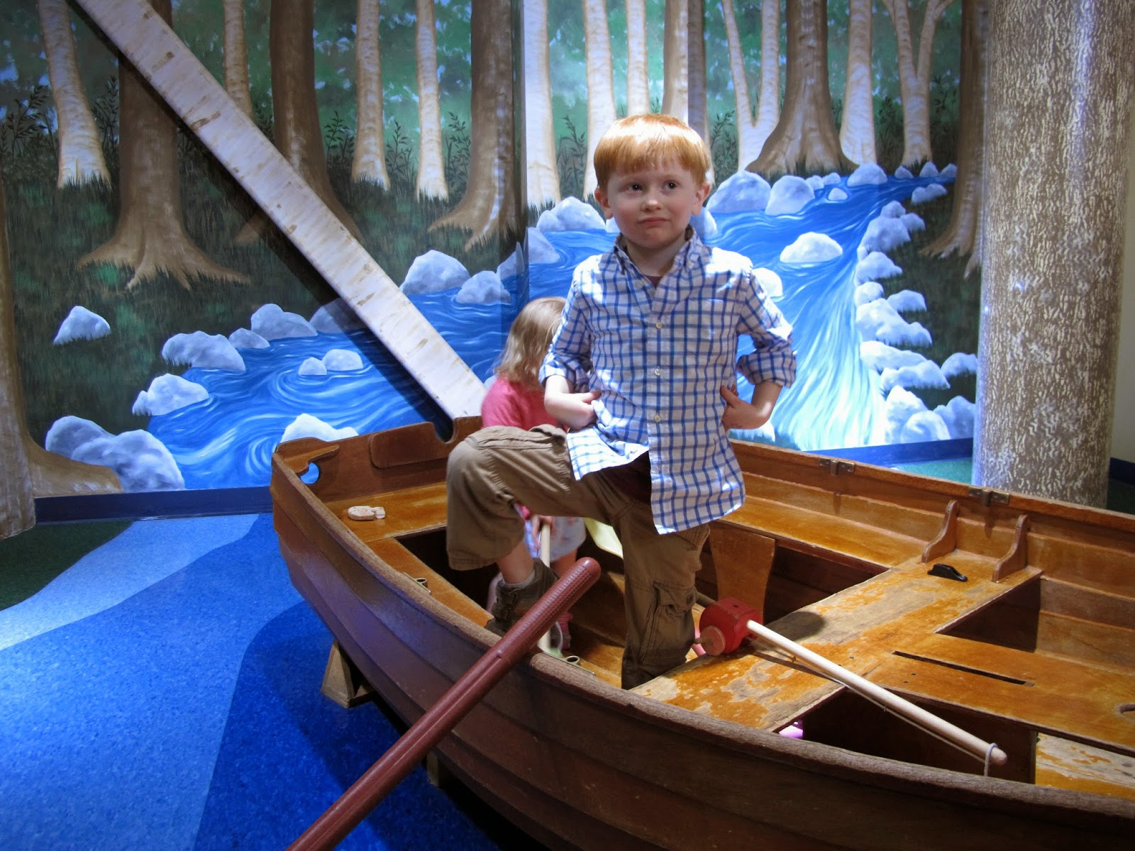 Row Boat in the Enchanted Forest