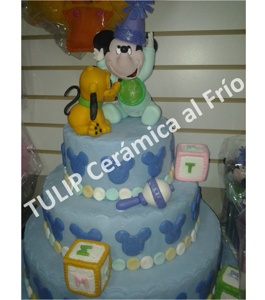 Torta Y Souvenirs Mickey Mouse