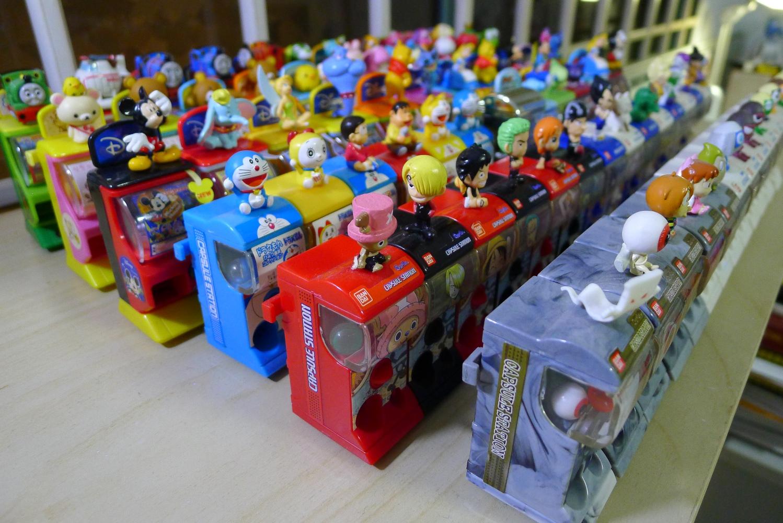 Japanese Capsule Toys : The world of gashapon capsule stations milkcananime