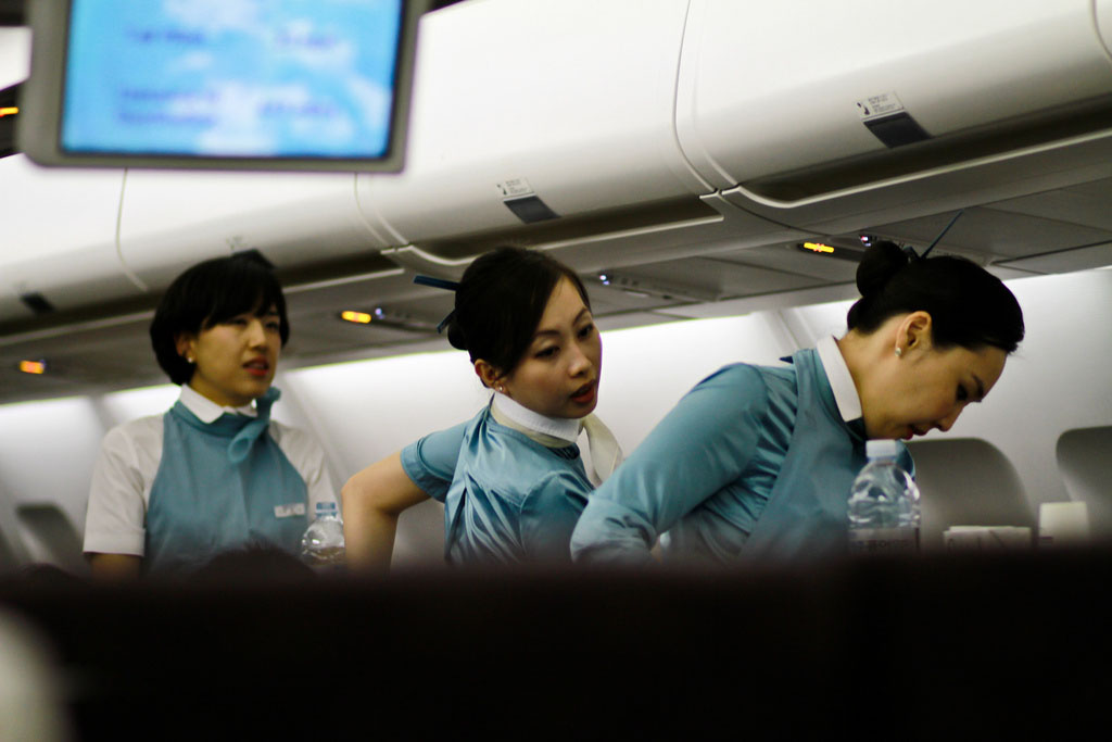 Korean air flight attendants for Korean air cabin crew requirements