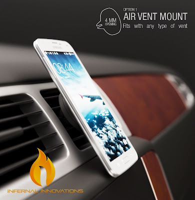 #1 Magnetic Car Air Vent Phone Mount Smartphone Stand   #megneticventmount