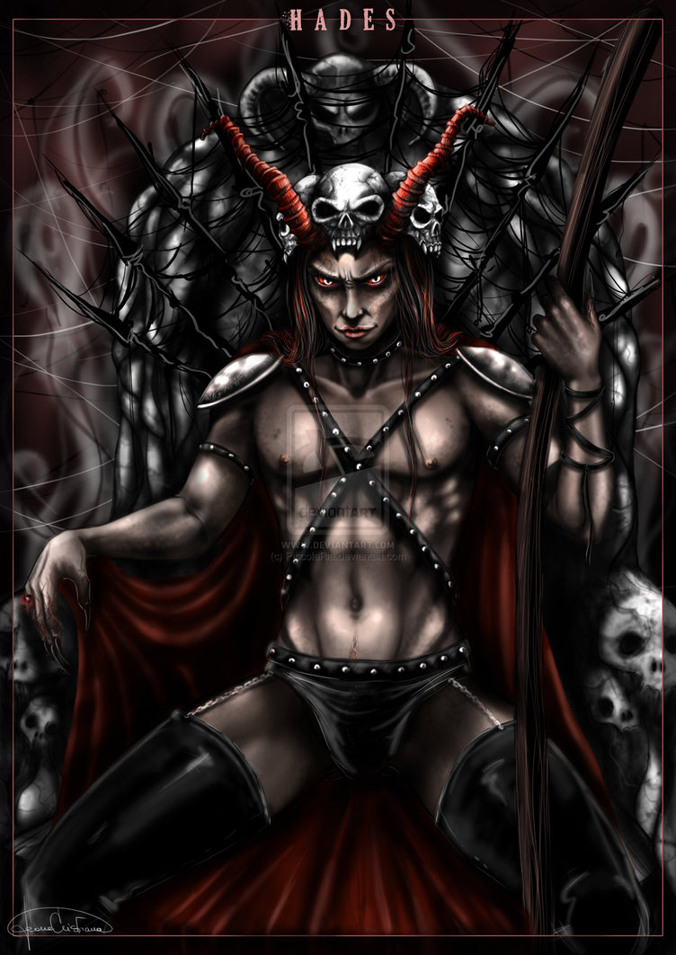 hades is the god of death and the dead who rules and presides in the    Hades God Of The Underworld Drawing