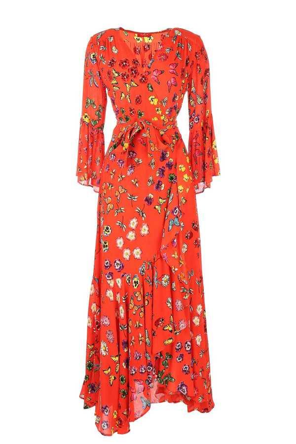 Μουσελινα αερινο κοκτειλ φορεμα